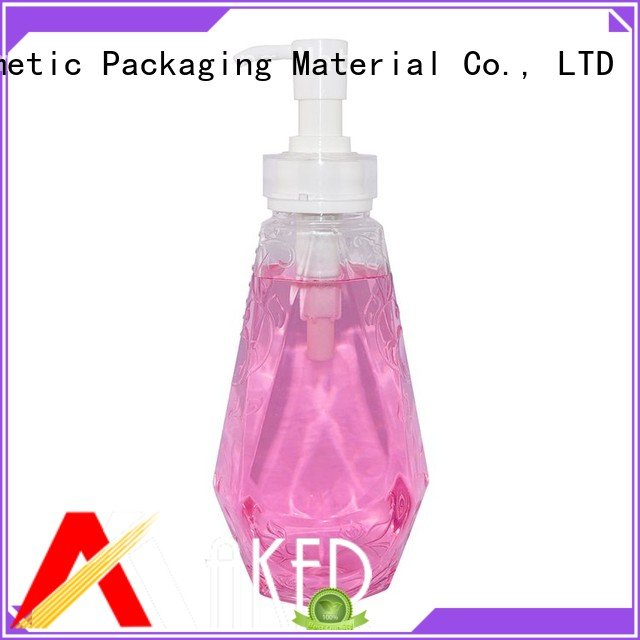 Factory Price 500ml Empty Clear Plastic Bottle for Shower Gel PET Bottle With Pump Dispenser