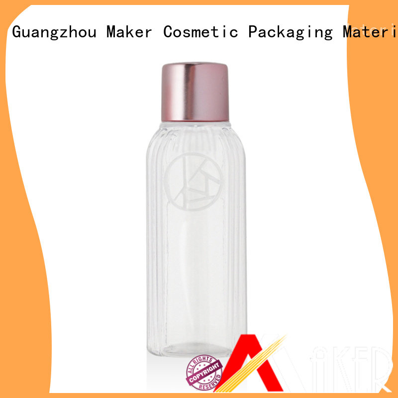 Maker aluminum plastic travel bottles flip for sale