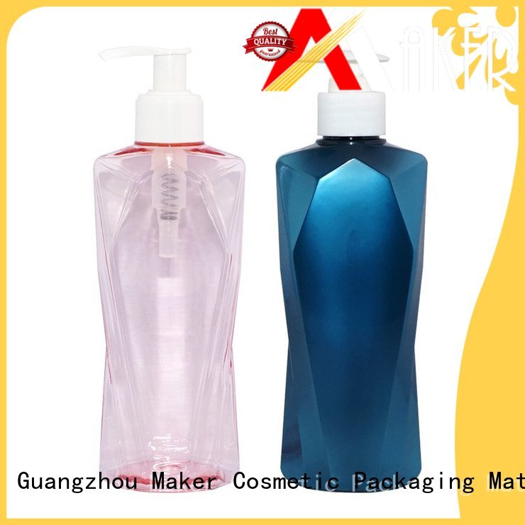 Maker automatic shampoo pump bottle label wholesale