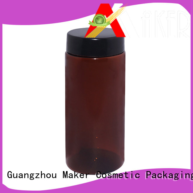 Maker hand cosmetic bottles and jars screw for sale