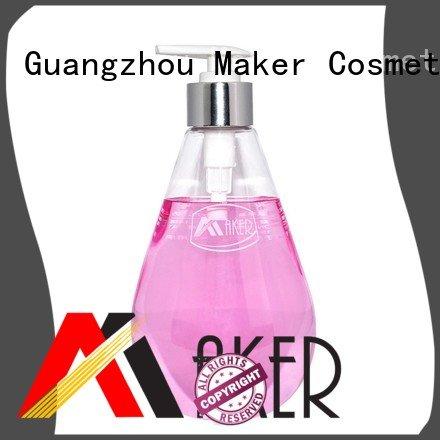 Quality Maker Brand pump bottle shampoo