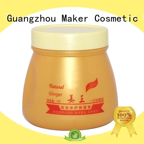 gold plastic jars hair care for sale